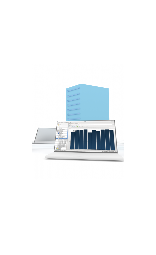 Réseau Tryton avec serveur et ordinateur portable client